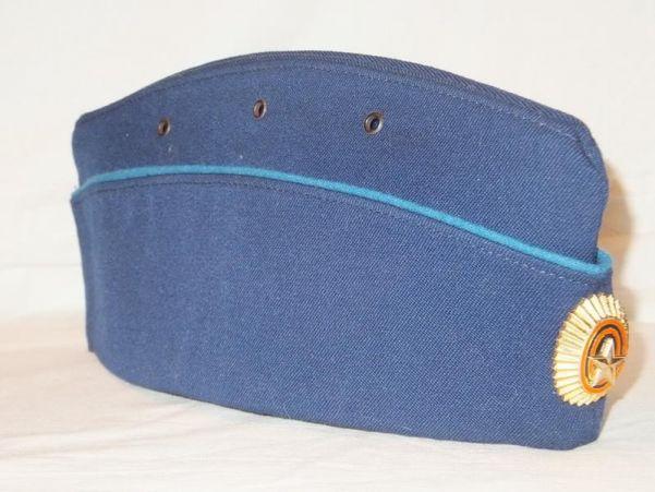 Пилотка ВВС с голубым кантом