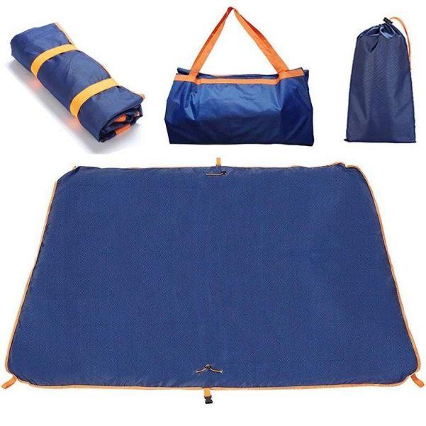 Портативный водонепроницаемый коврик для кемпинга Multifunctional Carpet Travelling Bag 3 в 1