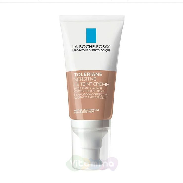 La Roche-Posay Toleriane Sensitive Le Teint Тонирующий увлажняющий крем для чувствительной кожи, 50 мл