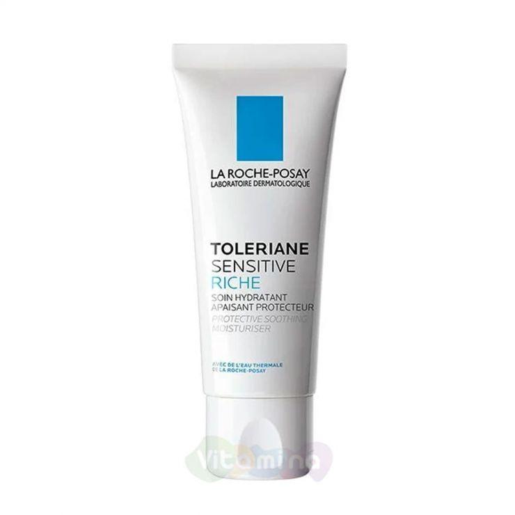 La Roche-Posay Toleriane Sensitive Riche Увлажняющий крем для сухой чувствительной кожи, 40 мл