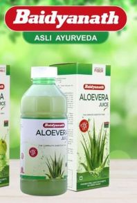 Натуральный Сок Алоэ Вера Aloe Vera juice baidyanath 1 литр