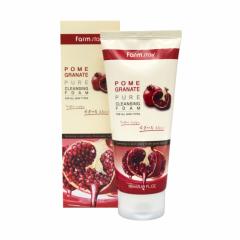 289618 FarmStay Антивозрастная пенка для умывания с экстрактом граната Pomegranate Pure Cleansing Foam