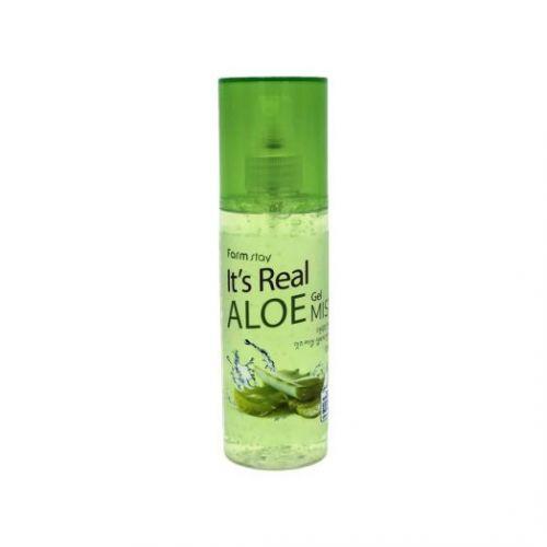 771405 FarmStay Увлажняющий гель-мист с экстрактом алоэ It's Real Gel Mist Aloe