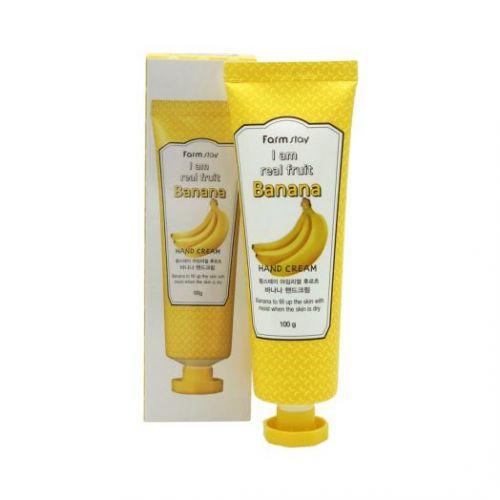 562257 FarmStay Крем для рук с экстрактом банана I Am Real Fruit Banana Hand Cream