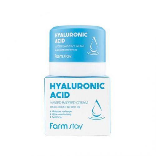 129070 FarmStay Увлажняющий защитный крем с гиалуроновой кислотой Hyaluronic Acid Water Barrier Cream