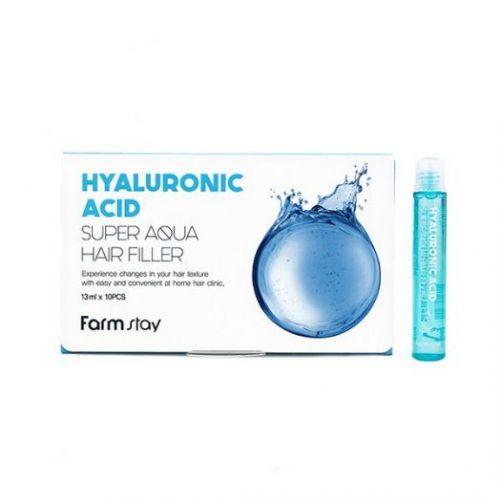881439 FarmStay Суперувлажняющий филлер для волос с гиалуроновой кислотой Hyaluronic Acid Super Aqua Hair Filler