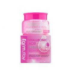 772290 FarmStay Балансирующий крем с гиалуроновой кислотой Hyaluronic Acid Premium Balancing Cream