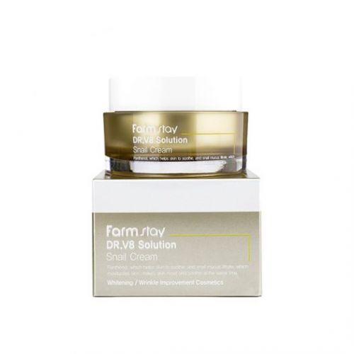 723621 FarmStay Крем с муцином улитки Dr-V8 Solution Snail Cream