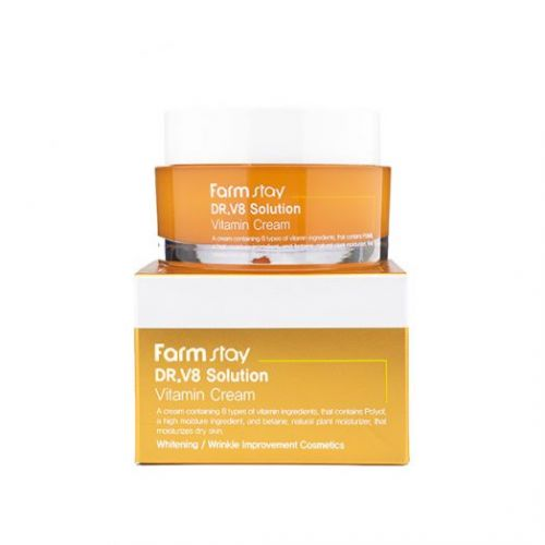 723638 FarmStay Крем с витаминами Dr-V8 Solution Vitamin Cream