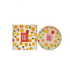 481093 FarmStay Компактная пудра с витаминами SPF 50/PA+++, №21 Беж, со сменным блоком DR-V8 Vitamin UV Pact SPF 50/PA+++ 21 Beige
