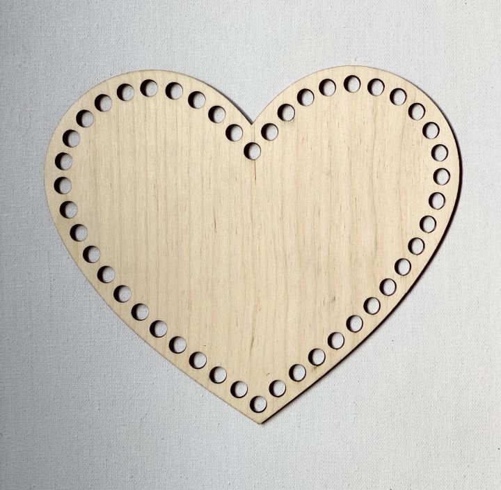 Сердце 20 см