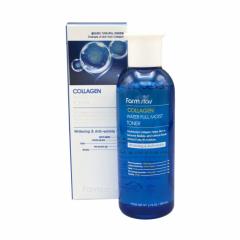002168 FarmStay Антивозрастной увлажняющий тонер с коллагеном Collagen Water Full Moist Toner