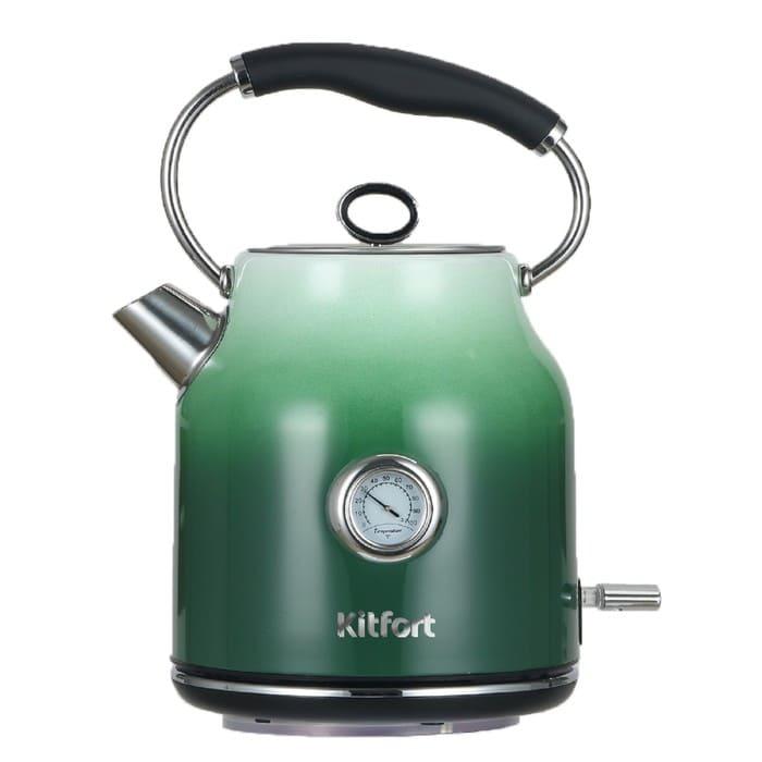 Чайник KitFort KT-679-2 (градиент зеленый)