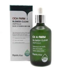 230439 FarmStay Высокоактивная ампульная эссенция с центеллой азиатской против несовершенств кожи Cica Farm Blemish Clear Ampoule