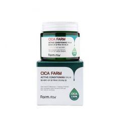 230323 FarmStay Восстанавливающий крем-бальзам для лица с центеллой азиатской Cica Farm Active Conditioning Balm