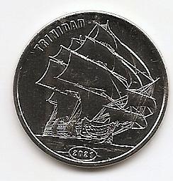 Парусник Тринидад  1 доллар Остров Флорес 2021