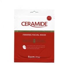 129018 FarmStay Укрепляющая тканевая маска с керамидами Ceramide Firming Facial Mask