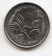 Ехидна 5 центов Австралия 2020 Новый портрет