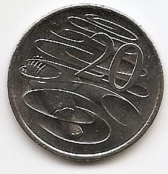 Утконос 20 центов Австралия 2020 Новый портрет