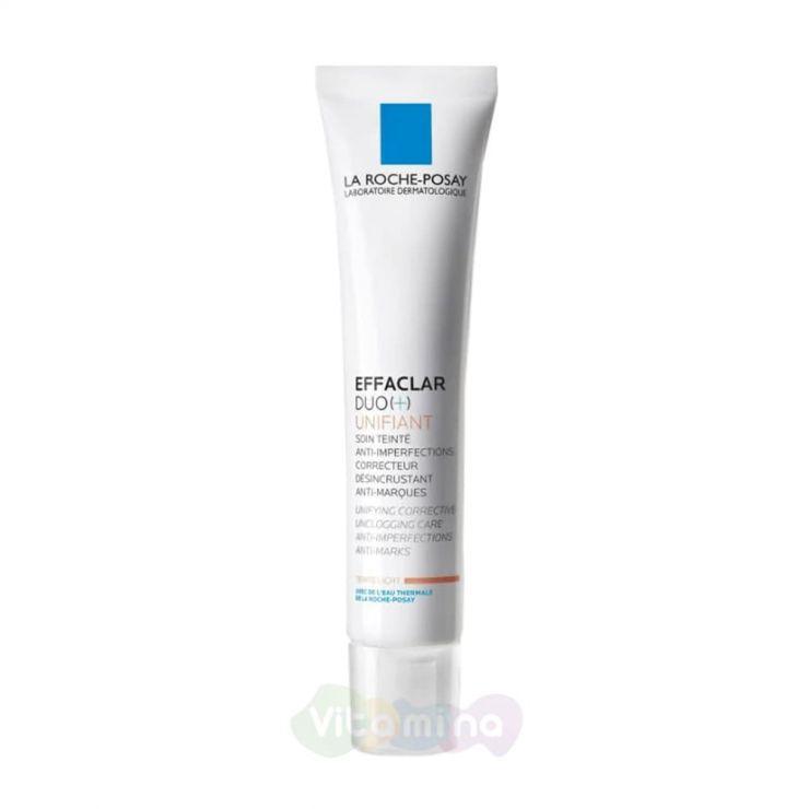La Roche-Posay Effaclar Duo (+) Корректирующий тонирующий крем-гель для жирной проблемной кожи, 40 мл