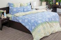 Поплин 1.5 спальный [синий] Восточная принцесса постельное белье