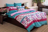 Поплин 2-х спальный [зеленый] Валери постельное белье
