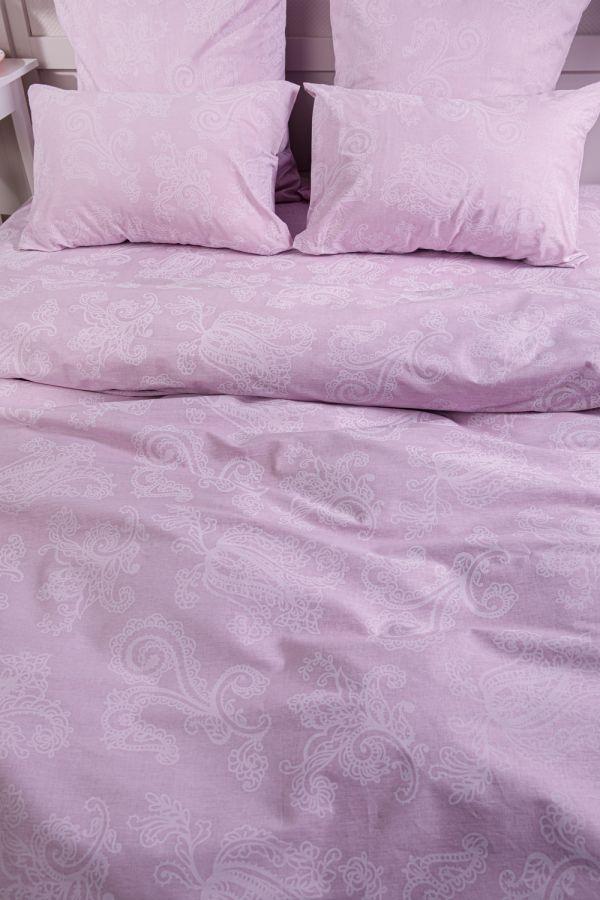 Поплин евро [мальва] Пейсли постельное белье