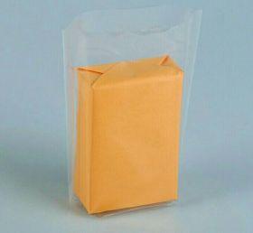 Пакет прозрачный с объемным дном, 15 х 22 х 3 см