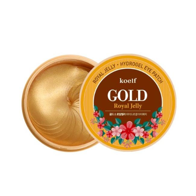 Гидрогелевые патчи с золотом и медом KOELF Gold & Royal Jelly Hydro Gel Eye Patch  60pcs ХИТ