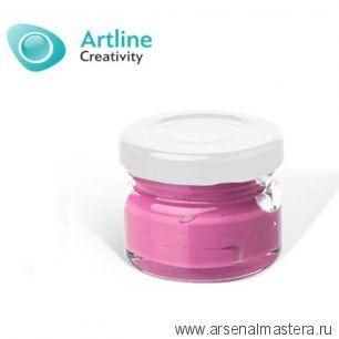 Пигментная паста для эпоксидной смолы 10 гр нежно - розовая Pigment Paste Artline PST-00-010-NRZ