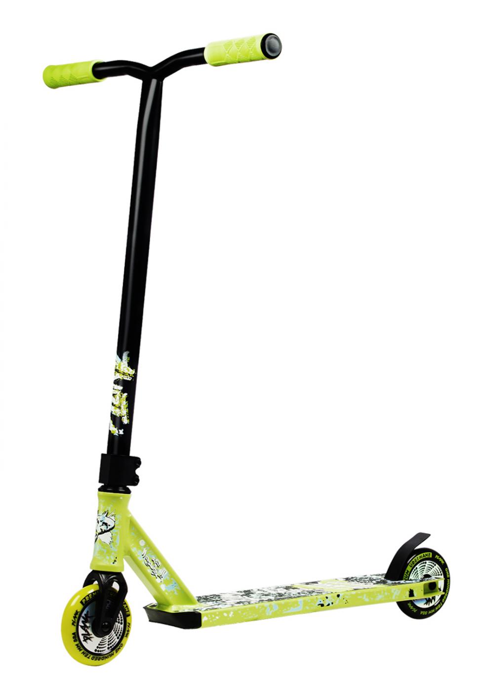 Самокат трюковой PLANK 180 зеленый