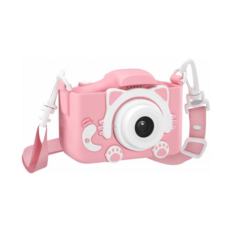 Детский цифровой фотоаппарат Kitty, Розовый