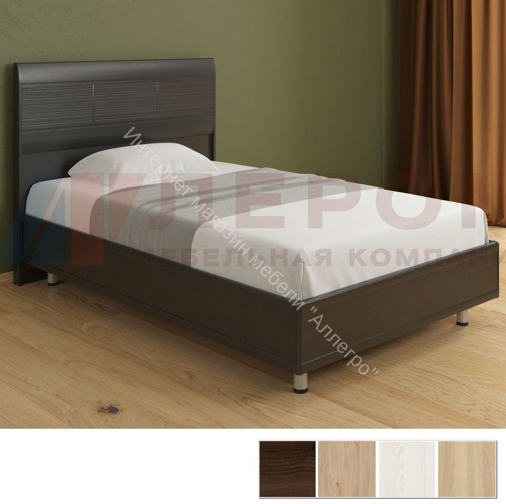 Кровать КР-2802 (1,4х2,0) с жестким изголовьем Мелисса