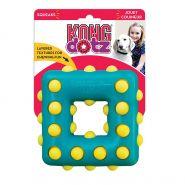 KONG игрушка для собак Dotz квадрат большой 13 см