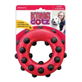KONG игрушка для собак Dotz кольцо малое 9 см