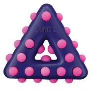 KONG игрушка для собак Dotz треугольник малый 11 см