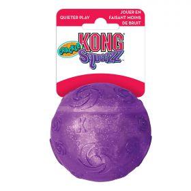 KONG игрушка для собак Squezz Crackle хрустящий мячик большой 7 см, цвета в ассортименте