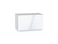 Шкаф верхний горизонтальный с увеличенной глубиной Фьюжн ВГ610 в цвете Angel