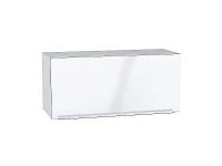 Шкаф верхний горизонтальный с увеличенной глубиной Фьюжн ВГ810 в цвете Angel