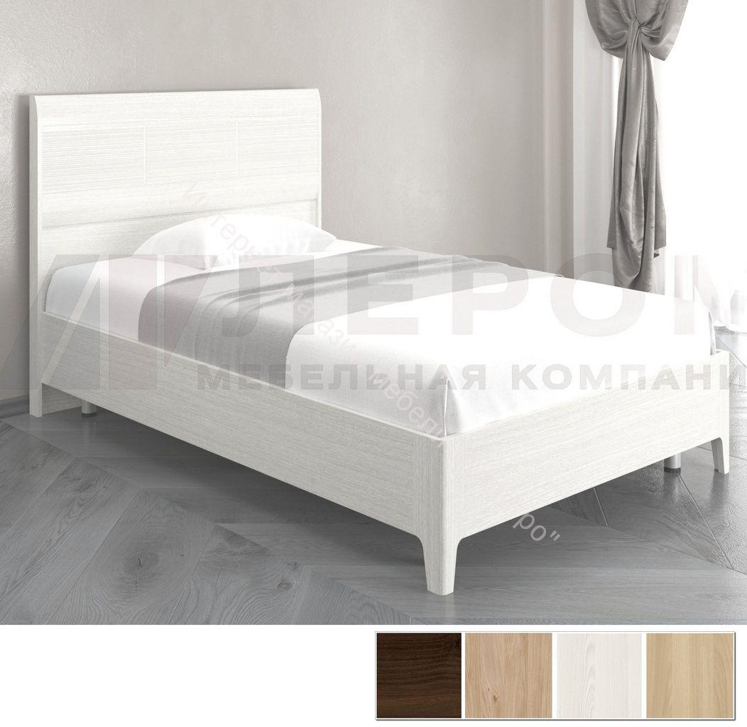 Кровать КР-2862  (1,4х2,0) с  жестким изголовьем Мелисса