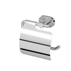 Держатель для туалетной бумаги с крышкой, хром AM.PM Sense A74341400