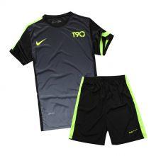 Форма футбольная Nike T90 Черная Графитная