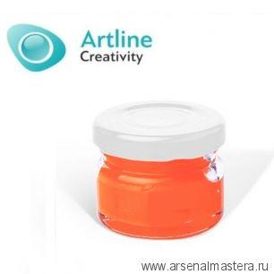 Пигментная паста для эпоксидной смолы 10 гр персиковая Pigment Paste Artline PST-00-010-PEA