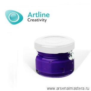Пигментная паста для эпоксидной смолы 10 гр сине - пурпурная Pigment Paste Artline PST-00-010-PUR