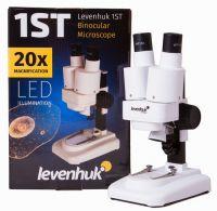Микроскоп Levenhuk 1ST, бинокулярный - упаковка