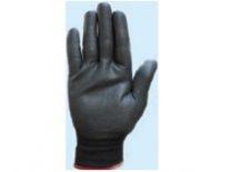 Перчатки нейлоновые с нитриловым покрытием (черная)