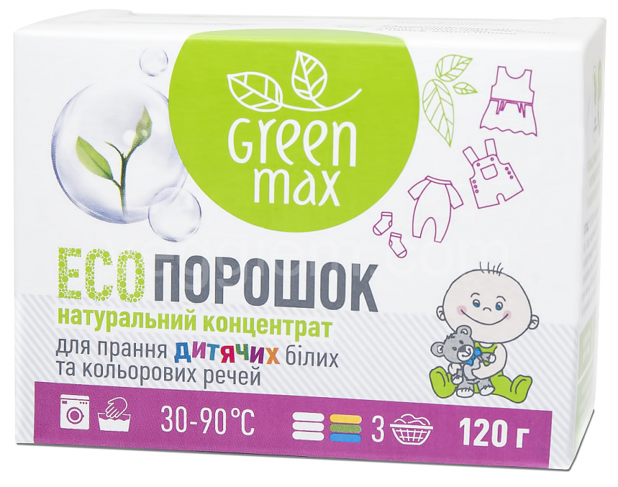 Экопорошок Детский GreenMax ,1кг