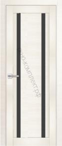 Модель № 15 Лиственница белая (эшвайт) (черное стекло)