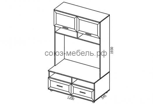 Классика карниз К-03 к Витрине ШМ-3