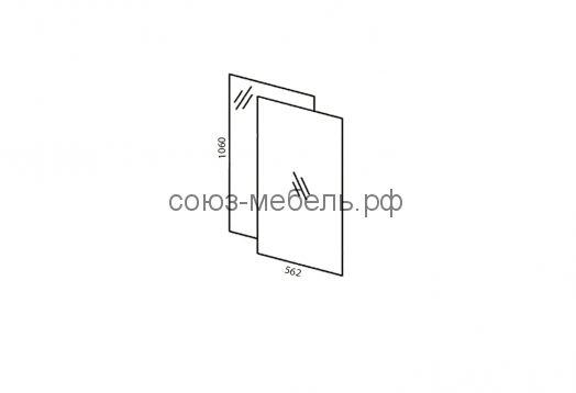 Гостиная Премьера (шкаф ШК+тумба ТБ+витрина ВС+полка стеклянная ПС+зеркало в витрину Z-ВС+навесная покла ПН-1,2+шкаф навесной ШН-1,2+шкаф стеклянный ШС+полки (ЛДСП) П)